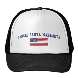 Bandera de Rancho Santa Margarita los E.E.U.U. Gorra