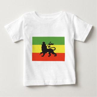 Bandera de Rastafarian Camiseta De Bebé