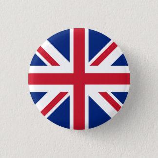 Bandera de Reino Unido Chapa Redonda De 2,5 Cm