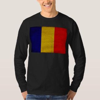 Bandera de República eo Tchad Camisas