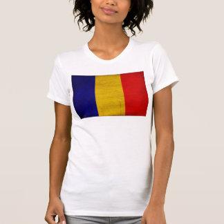 Bandera de República eo Tchad Camiseta