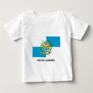 Bandera de Río de Janeiro, el Brasil Camiseta