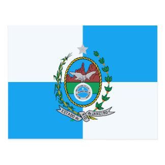 Bandera de Río de Janeiro Postal