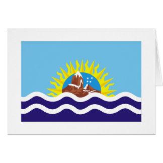 Bandera de Santa Cruz Felicitacion