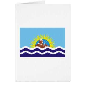 Bandera de Santa Cruz Tarjeta De Felicitación
