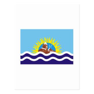 Bandera de Santa Cruz Tarjetas Postales