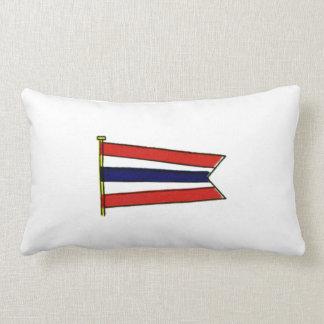 Bandera de señal de la marina de guerra del cojín