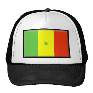 Bandera de Senegal Gorros