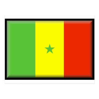 Bandera de Senegal Postal