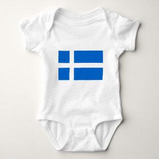 Bandera de Shetland Body Para Bebé