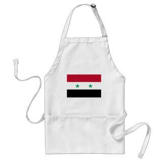 Bandera de Siria Delantal