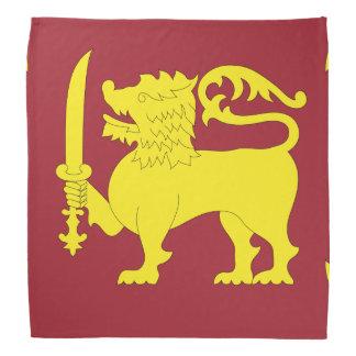 Bandera de Sri Lanka Bandana