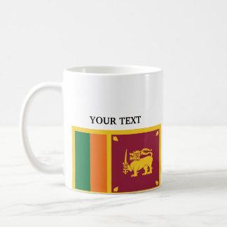 Bandera de Sri Lanka Taza De Café