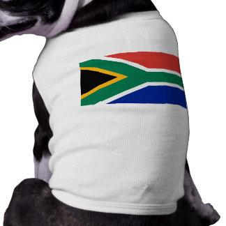 Bandera de Suráfrica Camiseta De Perrito