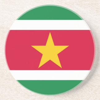 Bandera de Suriname Apoyavasos