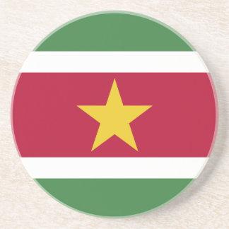 Bandera de Suriname Portavasos