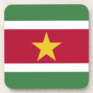 Bandera de Suriname Posavasos