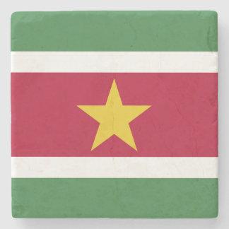 Bandera de Suriname Posavasos De Piedra