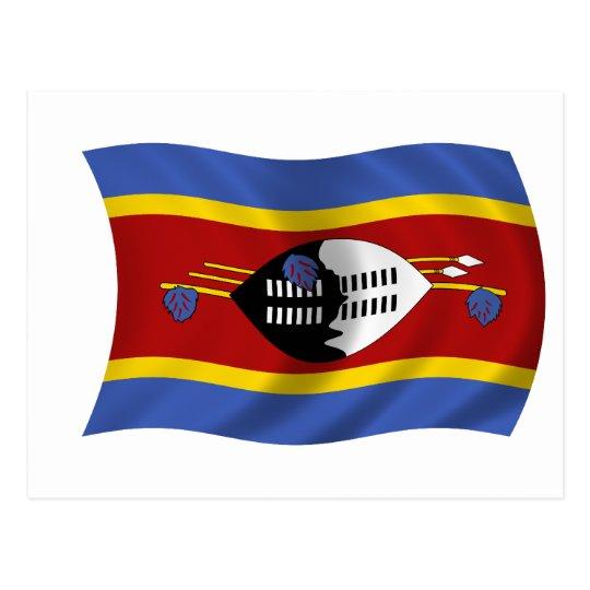 Bandera de Swazilandia Postal