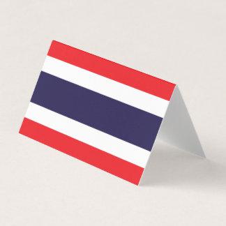 Bandera de Tailandia Tarjeta De Asiento