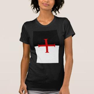 Bandera de Templar de los caballeros Camiseta