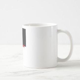 Bandera de Templar de los caballeros Taza De Café