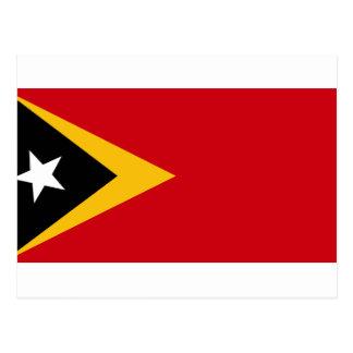 Bandera de Timor Oriental Postal