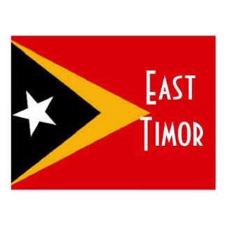 Bandera de Timor Oriental Tarjetas Postales