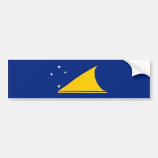 Bandera de Tokelau. Nueva Zelanda Pegatina Para Coche