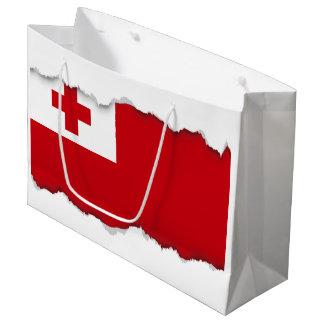 Bandera de Tonga Bolsa De Regalo Grande