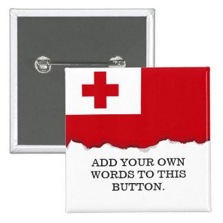 Bandera de Tonga Chapa Cuadrada