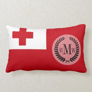 Bandera de Tonga Cojín Lumbar