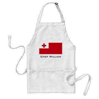 Bandera de Tonga Delantal