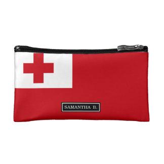 Bandera de Tonga Estuche De Maquillaje