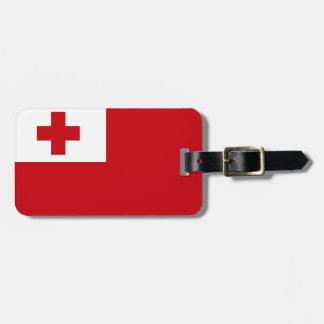 Bandera de Tonga Etiqueta Para Maletas
