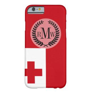 Bandera de Tonga Funda Barely There iPhone 6