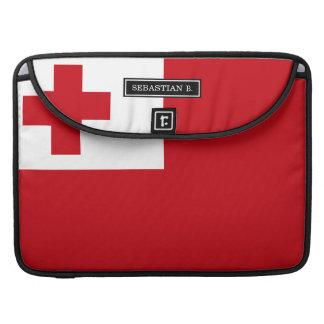 Bandera de Tonga Fundas Para Macbooks