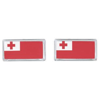 Bandera de Tonga Gemelos Plateados
