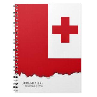 Bandera de Tonga Libretas