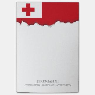 Bandera de Tonga Notas Post-it®