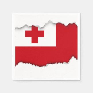Bandera de Tonga Servilleta De Papel