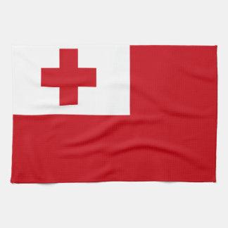 Bandera de Tonga Toalla De Cocina