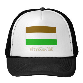 Bandera de Transkei con nombre Gorros Bordados