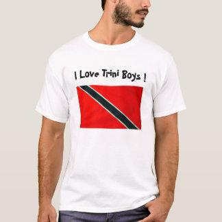 ¡BANDERA de TRINI, amo a los muchachos de Trini! Camiseta