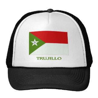 Bandera de Trujillo con nombre Gorra