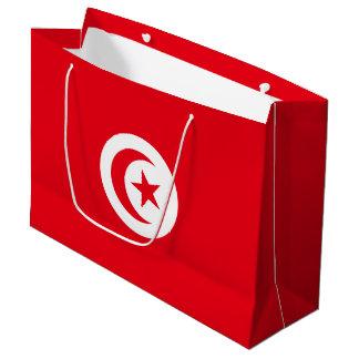 Bandera de Túnez Bolsa De Regalo Grande