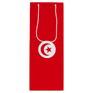 Bandera de Túnez Bolsa Para Vino