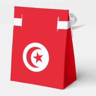 Bandera de Túnez Caja De Regalos