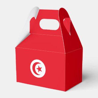 Bandera de Túnez Caja Para Regalos