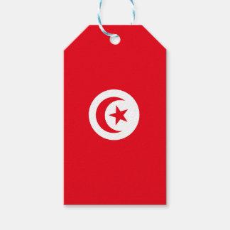 Bandera de Túnez Etiquetas Para Regalos
